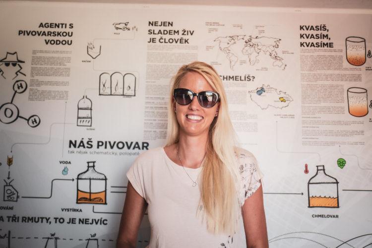 Mirka Divoká | darkroomvisitor | darkroomvisitor.cz | Spojka Karlín | Pivovar Záhora